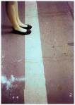 cruzando una linea